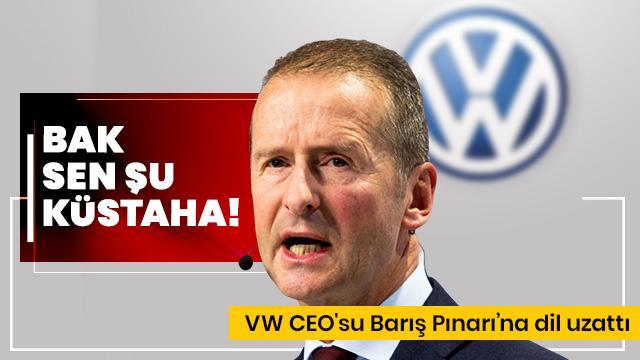 Volkswagen'in CEO'sundan küstah Türkiye açıklaması