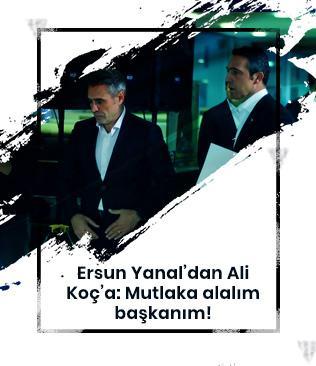 Ersun Yanal yönetimle yaptığı görüşmede Kolarov'un transfer edilmesini belirtti