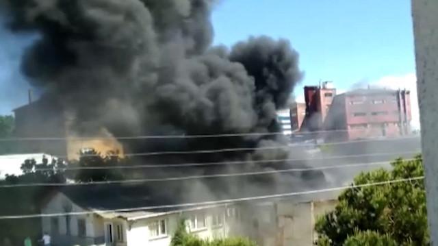 Çekmeköy'de yangın çıktı! Son dakika Çekmeköy'de nerede yangın çıktı?