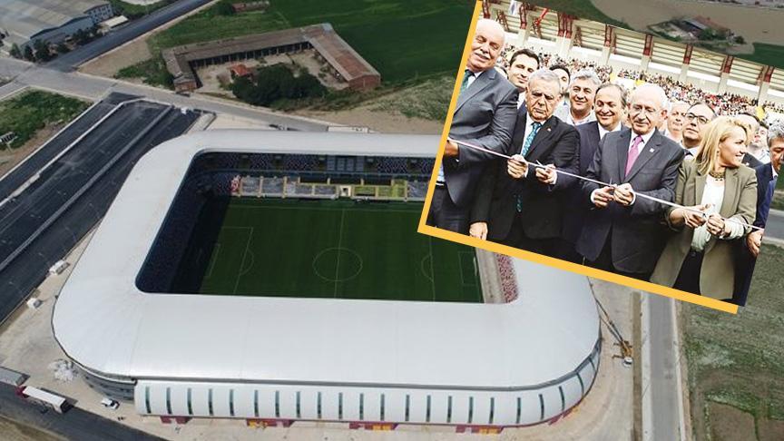 Kılıçdaroğlu'nun açılışını yaptığı 70 milyon TL'lik tesisin kapısına kilit vuruldu