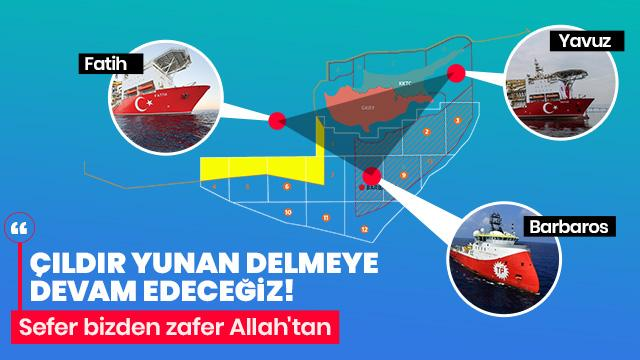 'Doğu Akdeniz'de dördüncü sondajı yapıyoruz'