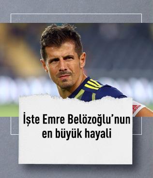 Emre Belözoğlu'nun hayali Avrupa şampiyonluğu