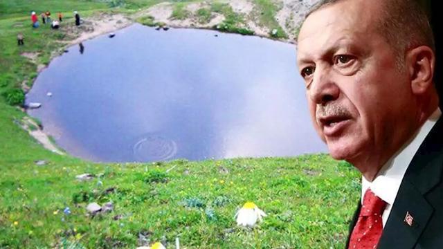 Başkan Erdoğan'dan Dipsiz Göl talimatı! Bakanlık harekete geçti