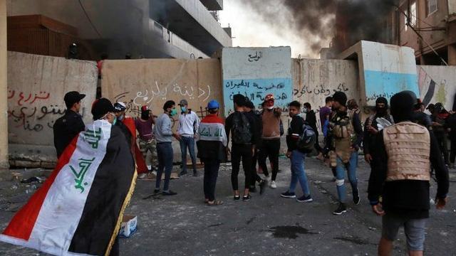 Bağdat'ta protestolarda 4 kişi daha öldü, 40 kişi yaralandı