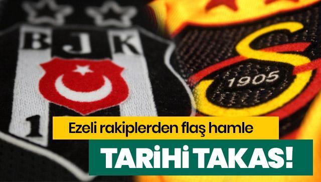 Galatasaray ve Beşiktaş arasında tarihi takas! 'Ver Diagne'yi al Oğuzhan'ı'