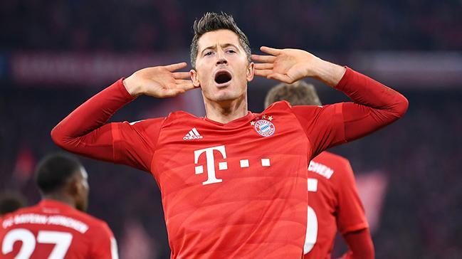 Robert Lewandowski gözünü Müller'in rekorlarına dikti