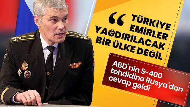 'Türkiye emirler yağdırılacak bir ülke değil'