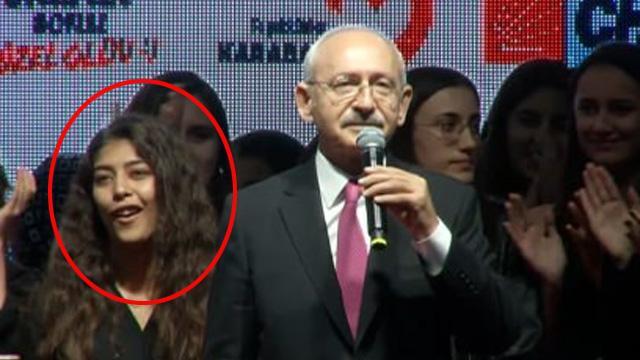 Kılıçdaroğlu'nun o sözüne genç kız böyle tepki gösterdi: Oha