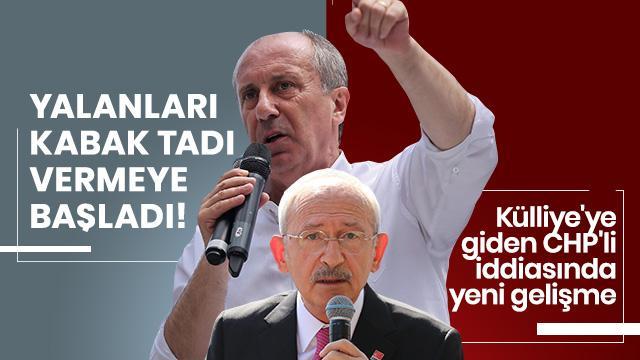 Külliye'ye giden CHP'li iddiası! Rahmi Turan; 'O isim Muharrem İnce' dedi
