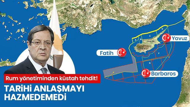 Rum yönetimi Türkiye'ye karşı tehditler savurdu: Her türlü silahı kullanacağız