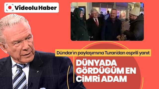 Uğur Dündar'ın paylaşımına Bülent Turan böyle yanıt verdi