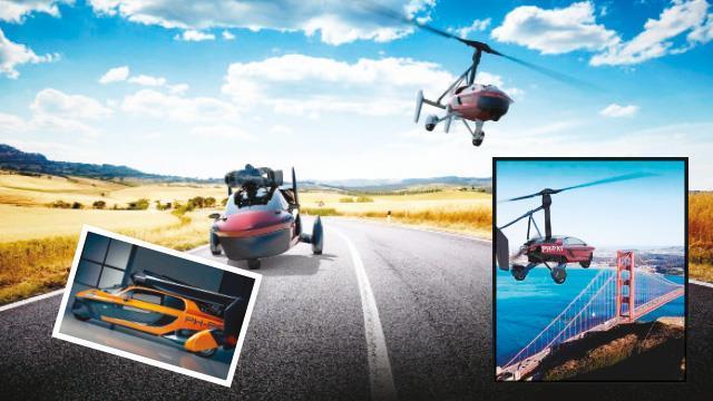 Trafik derdi  tarih oluyor! Otomobil uçar  gider