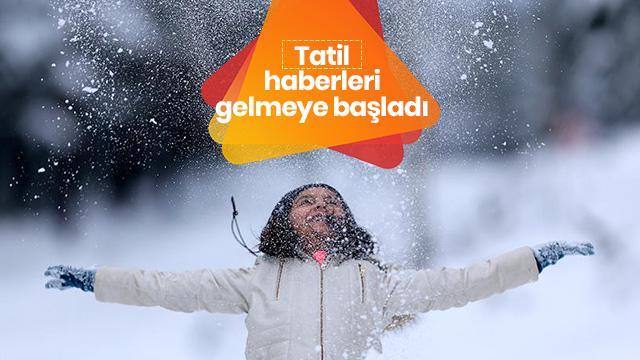 Okullar Kahramanmaraş'ın 2 ilçesinde tatil edildi