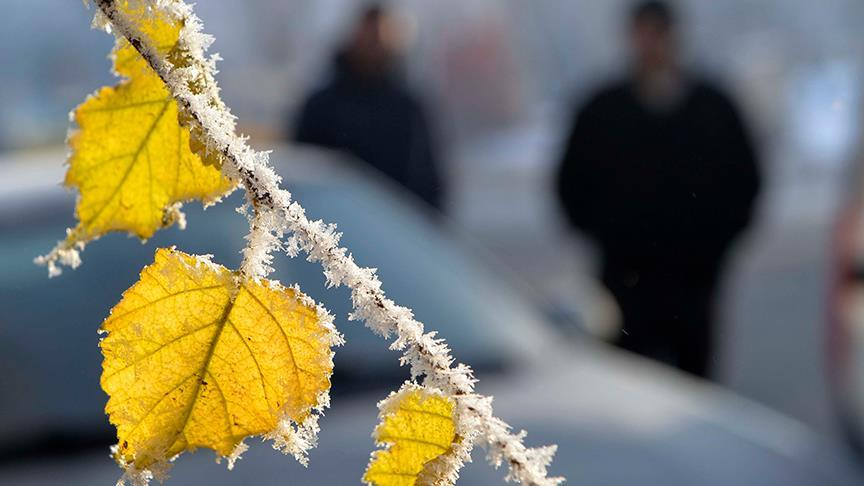Meteoroloji bir çok il için don ve buzlanma uyarısı yaptı