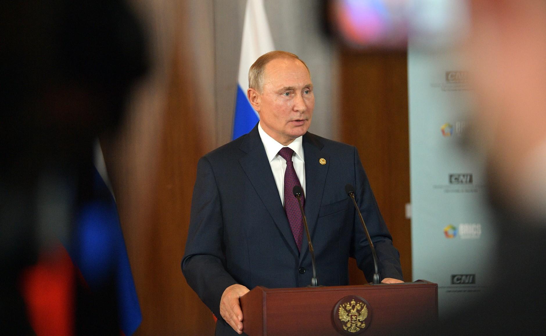 Putin'den flaş açıklama: ABD ile koşulsuz anlaşmaya hazırız