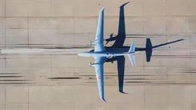 Selçuk Bayraktar AKINCI TİHA'nın ilk uçuş görüntüsünü paylaştı: İlk kez gökyüzüyle buluştu