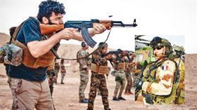 Fransız askerinden teröristlere eğitim