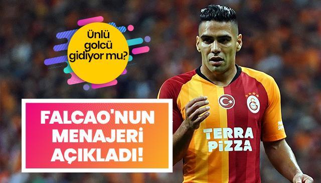 Menajer Ahmet Bulut'tan transfer iddialarına yanıt: Falcao hiçbir yere gitmiyor