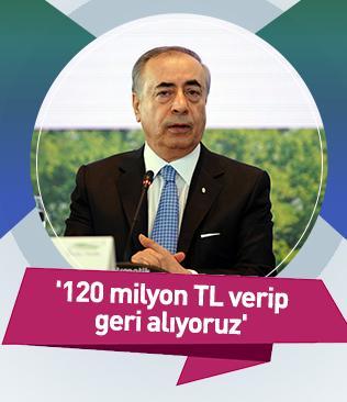 Galatasaray Başkanı Mustafa Cengiz:  Evimize bedel ödeyerek tekrar sahip oluyoruz