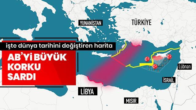 Libya anlaşması Meclis'ten geçti, AB'yi korku sardı! İşte dünya tarihini değiştiren harita