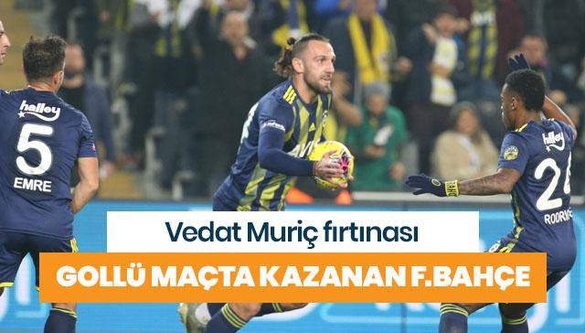 Fenerbahçe evinde çok farklı