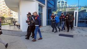 Bursa-İstanbul arası hırsızlık şebekesi çökertildi