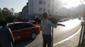 İstanbul'un en kalabalık ilçesinde vatandaşların eşek ve sıpa şaşkınlığı