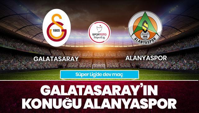 Galatasaray-Alanyaspor CANLI ANLATIM