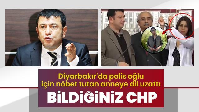 """Diyarbakır annesine """"vicdansız"""" hakaret"""