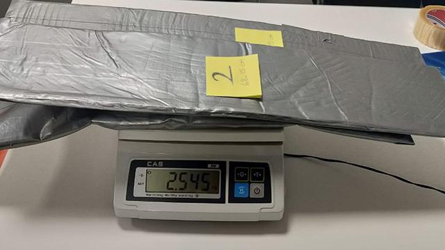 İstanbul Havalimanı'nda Brezilya'dan gelen 4,6 kilogram kokain ele geçirildi