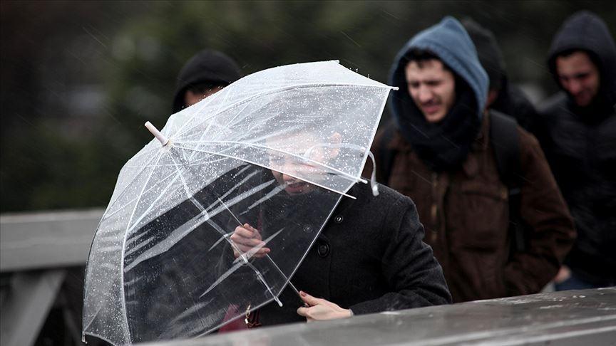 Meteoroloji'den son dakika hava durumu açıklaması! Sağanak yağış uyarısı geldi