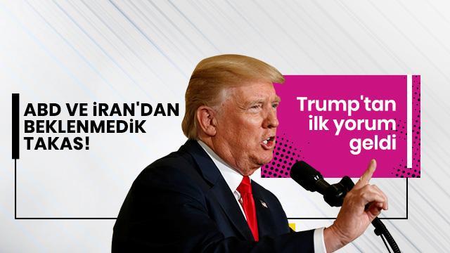Trump'tan 'İran ile tutuklu takası' açıklaması
