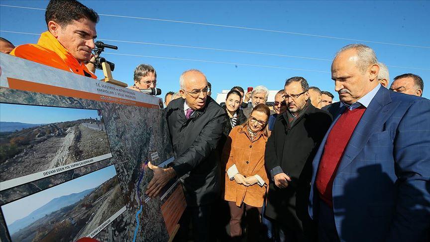 Bakanlar Pekcan, Turhan ve Kasapoğlu, Manisa'da yatırımları inceledi