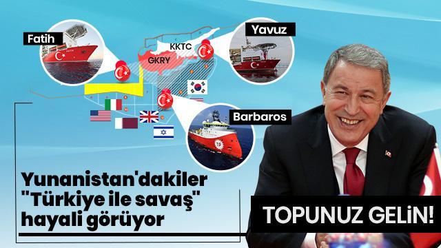 Türkiye'nin Doğu Akdeniz'deki hamlesi Yunanistan'da panik yarattı!