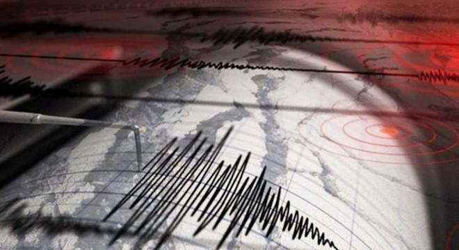 Bolu'da gece 4 deprem meydana geldi