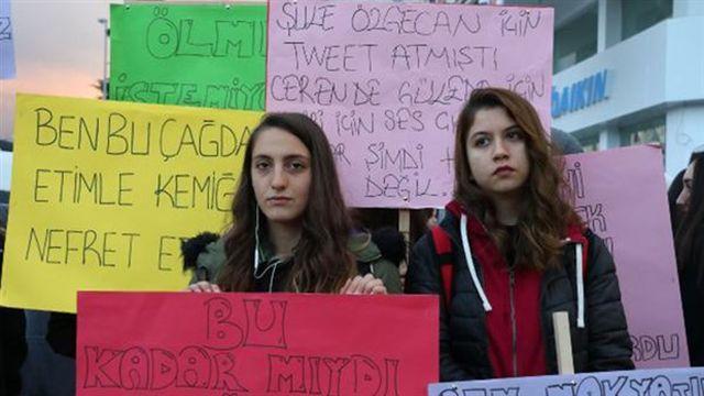 Ordu'da Ceren Özdemir için yürüyüş düzenlendi