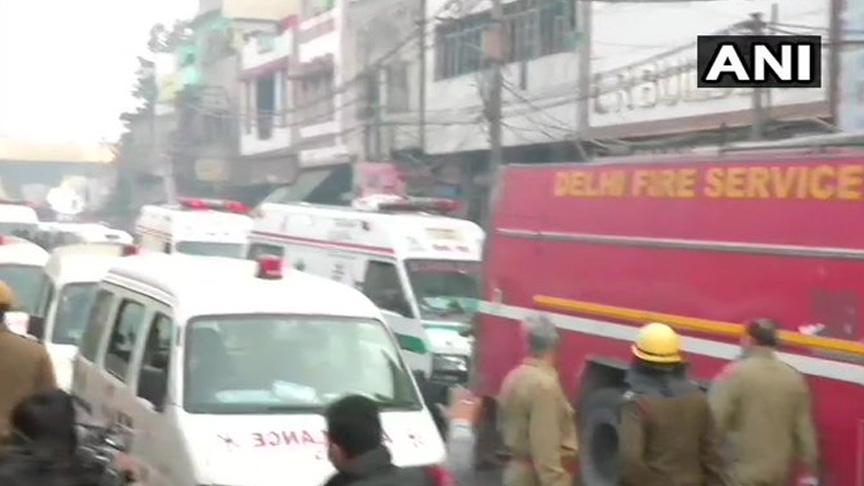 Hindistan'da yangın: 43 ölü, 15 yaralı