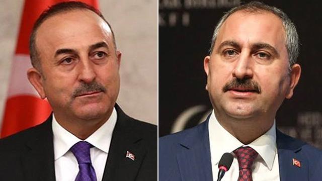Adalet Bakanı Gül ve Dışişleri Bakanı Çavuşoğlu, Avrupa Konseyi Genel Sekreteri ile görüştü