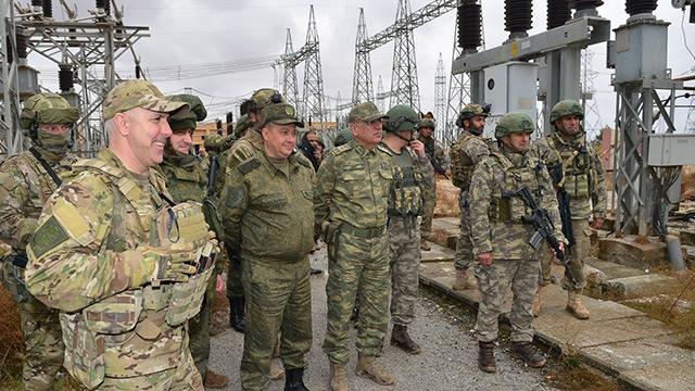 Milli Savunma Bakanlığı: Tel Abyad kırsalına elektrik verilmesi sağlandı