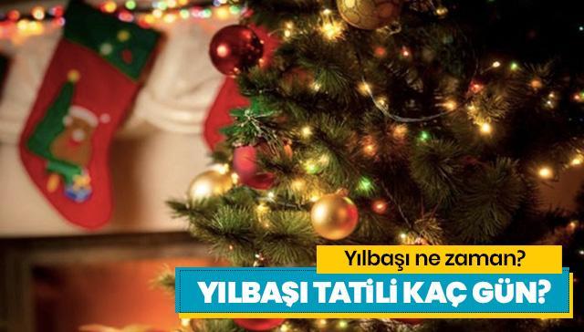 Yılbaşı hangi güne denk geliyor? 1 Ocak yılbaşı resmi tatil mi?
