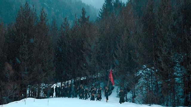 'Beyaz Hüzün/Sarıkamış' filminin galası yapıldı