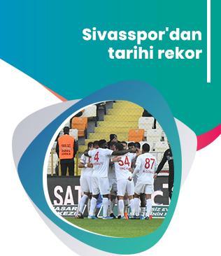 Sivasspor'dan tarihi rekor