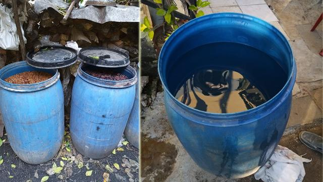 Adana'da bir evde 648 litre kaçak ve sahte içki ele geçirildi