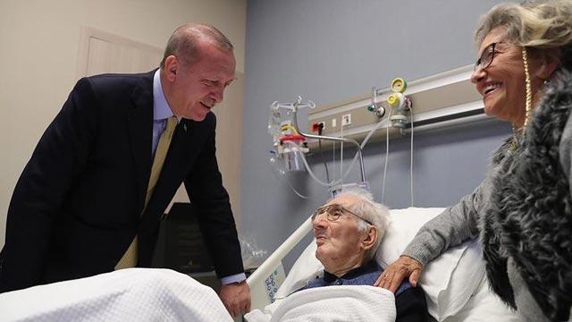 Başkan Erdoğan hasta ziyaretlerinde bulundu