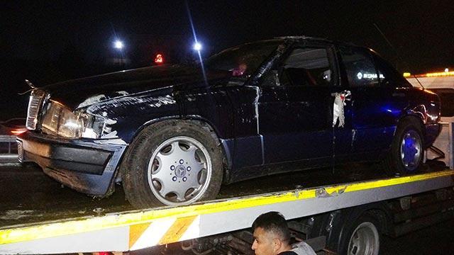 Sultanbeyli'de trafik kazasında 2 kişi yaralandı