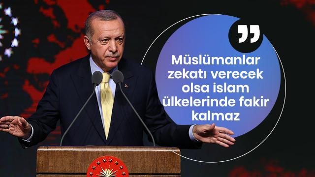 Başkan Erdoğan: Bu sene içerisinde Tahkim Merkezi'ni faaliyete geçireceğiz