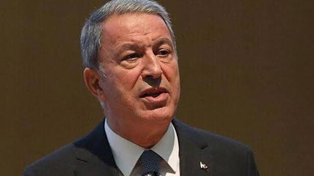 Milli Savunma Bakanı Akar: Libya mutabakatları diğer ülkelere karşı bir tehdit değildir
