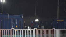 Malatya'da feci ölüm! Vagonların üstünden atlayan genç yüksek gerilim hattına kapılarak öldü
