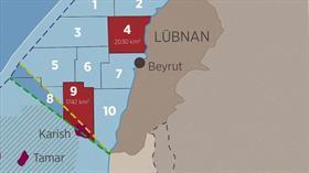 Terör devleti İsrail'in Lübnan açıklarında arama yaptığı iddia edildi