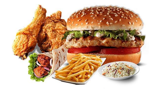 Fast food'dan uzak durun